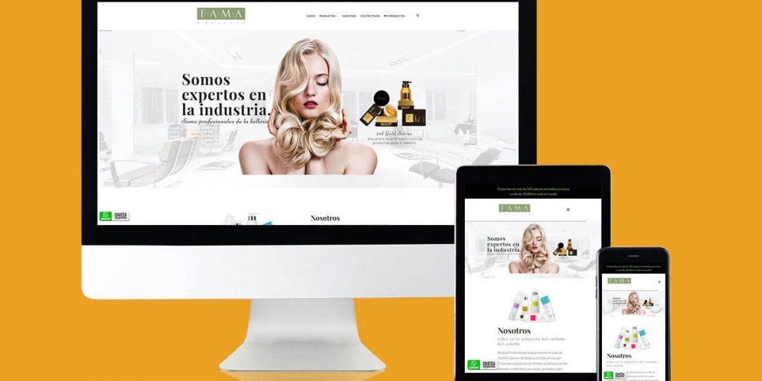 fama y belleza productos para el cabello web
